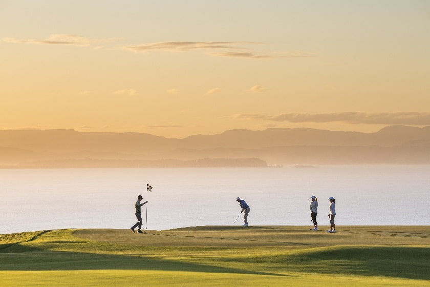 Cape Kidnappers at Dusk