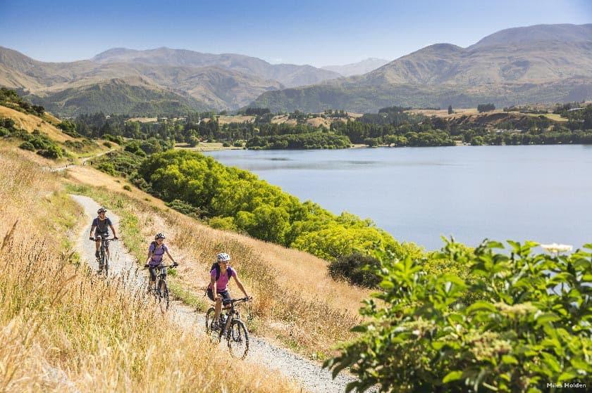 Lake Hayes Biking